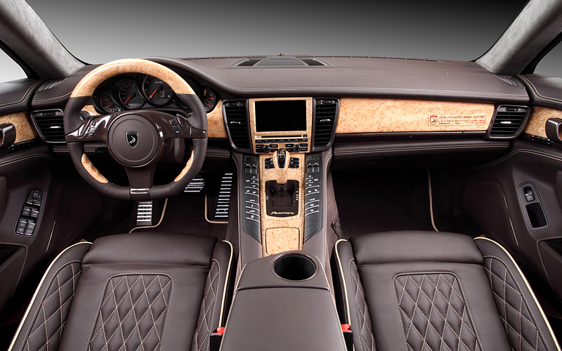 2012 Porsche Panamera TopCar Stingray GTR Orange