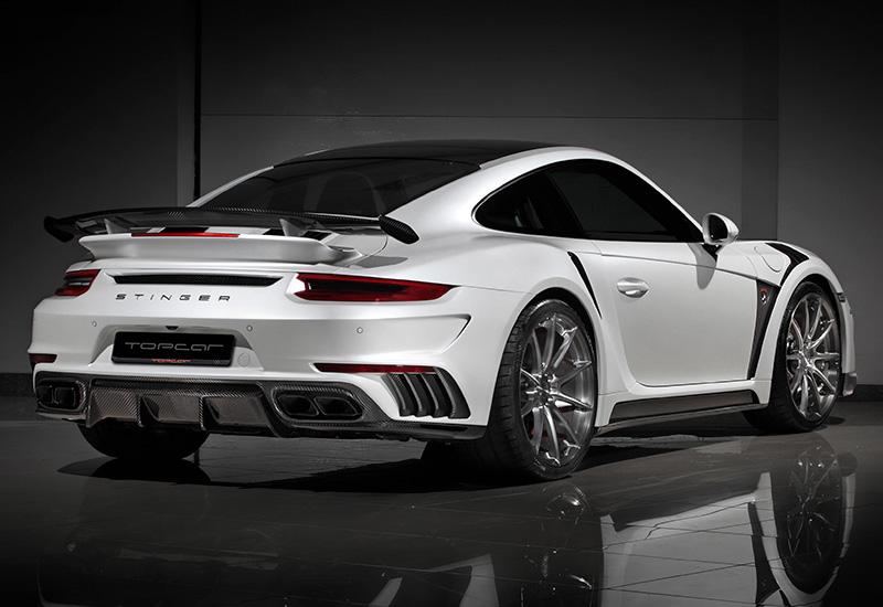 2016 Porsche 911 Turbo S Topcar Stinger Gtr Gen 2 991