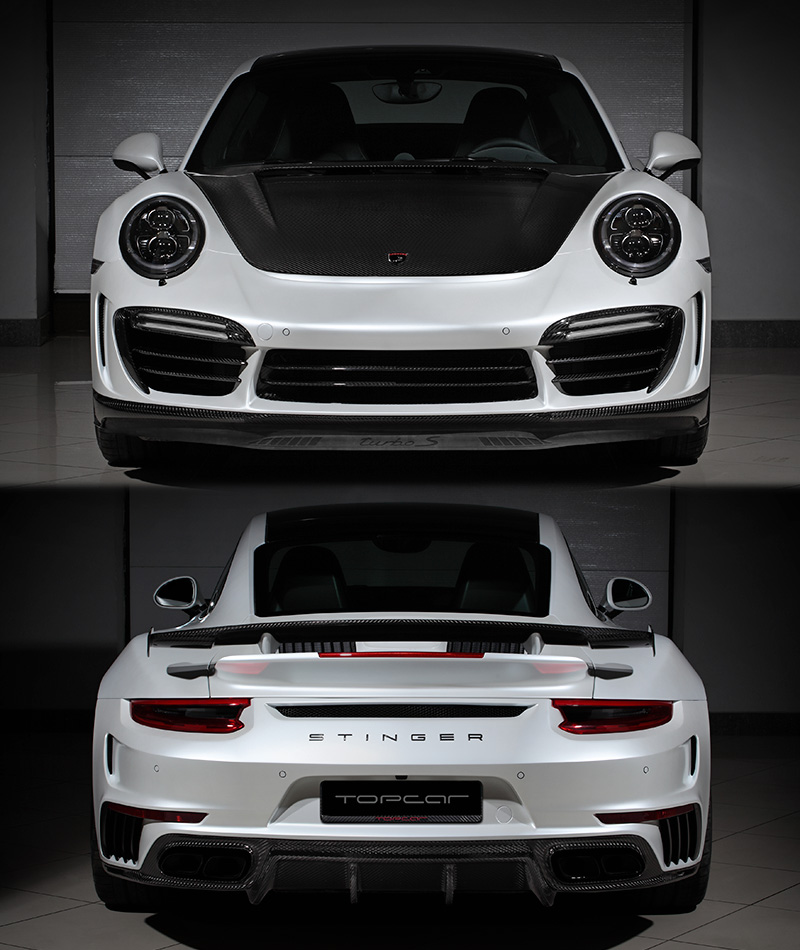 2016 Porsche 911 Turbo S TopCar Stinger GTR Gen.2 (991