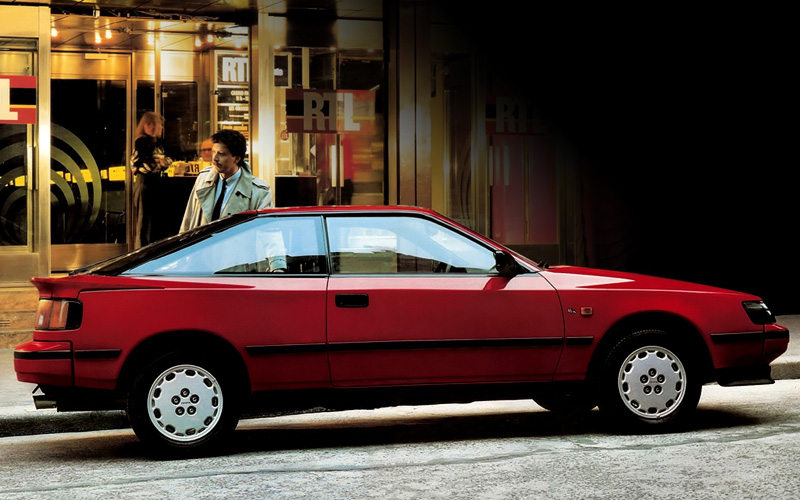 1986 Toyota Celica GT-Four (ST165) generation IV ...