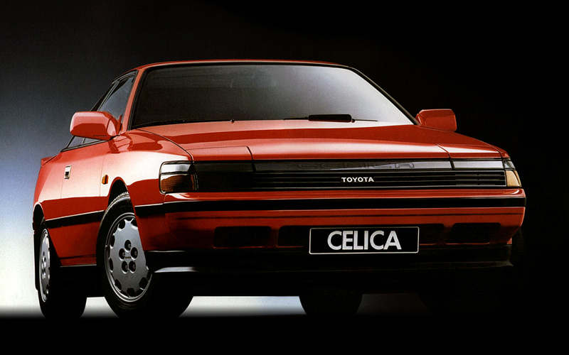 1986 Toyota Celica GT-Four (ST165) generation IV