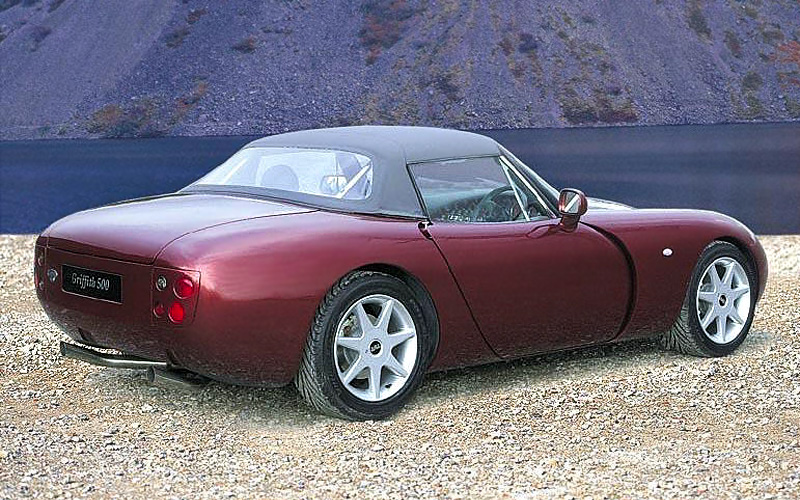 1993 tvr griffith 500 specifications photo price. Black Bedroom Furniture Sets. Home Design Ideas