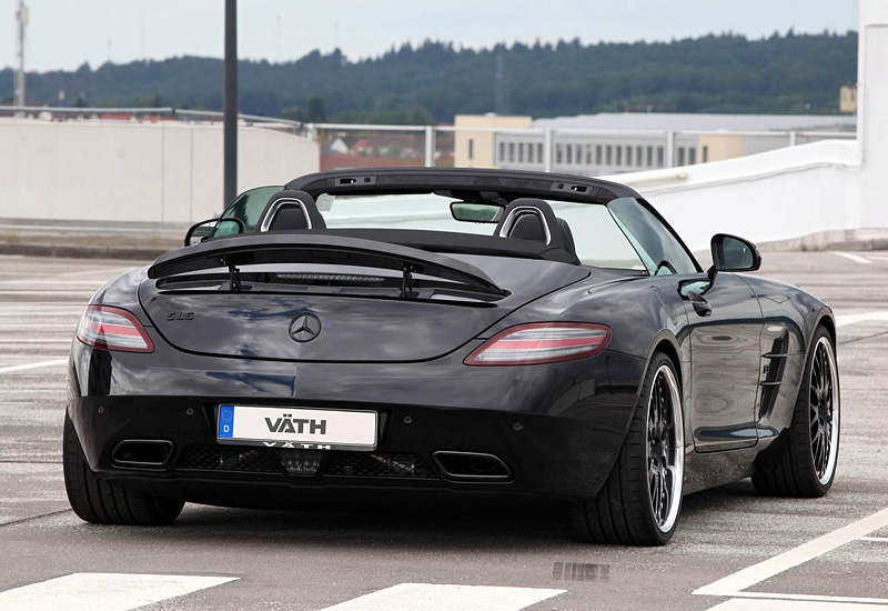 2012 mercedes benz sls amg roadster vath specifications. Black Bedroom Furniture Sets. Home Design Ideas