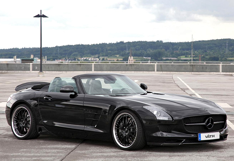 2012 mercedes benz sls amg roadster vath specifications photo price information rating. Black Bedroom Furniture Sets. Home Design Ideas