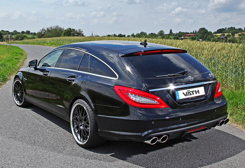 2013 mercedes benz cls 63 amg shooting brake vath for Mercedes benz cls63 price