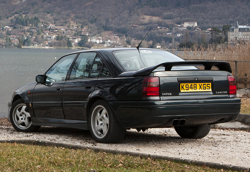 1990 vauxhall carlton lotus specifications photo price. Black Bedroom Furniture Sets. Home Design Ideas