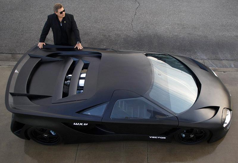 2008 Vector Avtech WX8 Hypercar Concept - specifications