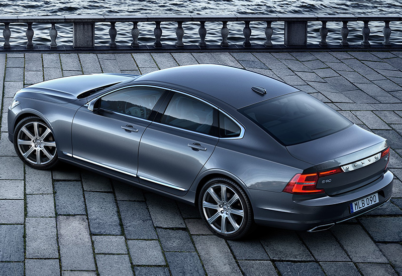2016 Volvo S90 T8 - specifications, photo, price, information, rating
