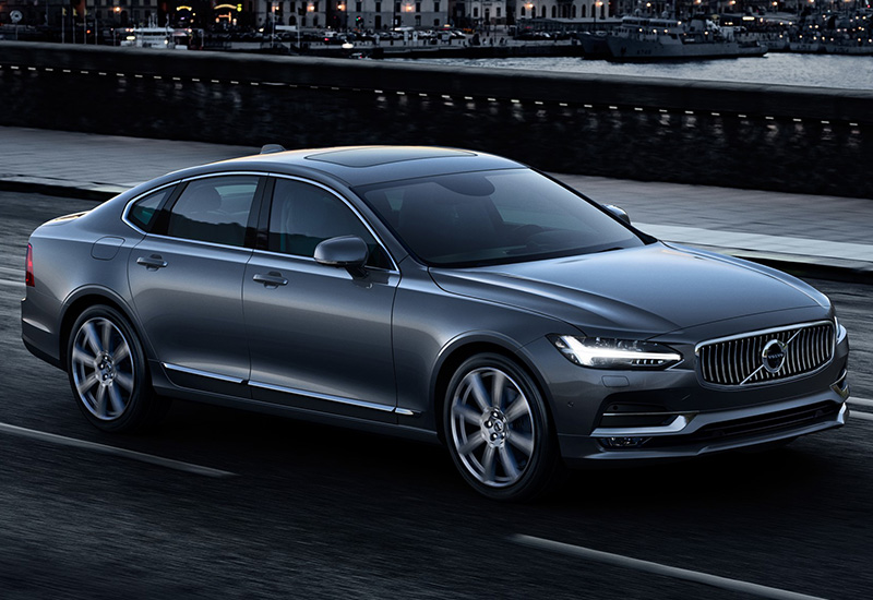 2016 volvo s90 t8 specifications photo price information rating. Black Bedroom Furniture Sets. Home Design Ideas