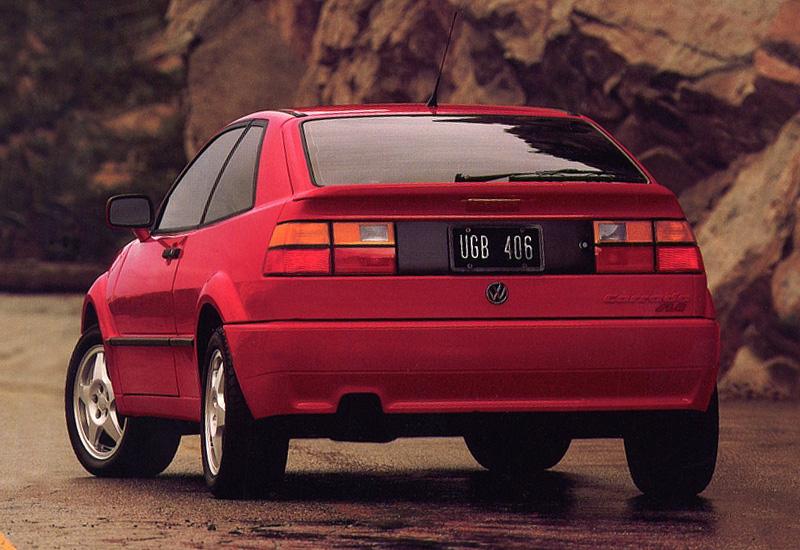 1992 Volkswagen Corrado VR6 - specifications, photo, price, information, rating