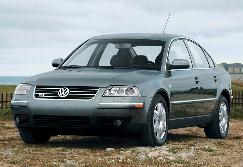 2002 volkswagen passat w8 sedan b5 specifications photo price information rating. Black Bedroom Furniture Sets. Home Design Ideas