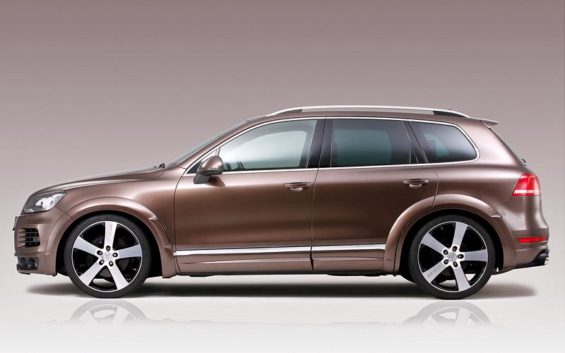 2011 Volkswagen Touareg V8 TDI R-Line JE DESIGN Widebody