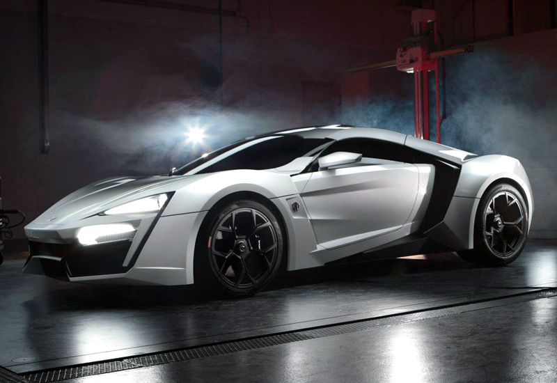 2013 W Motors Lykan Hypersport Specifications Photo