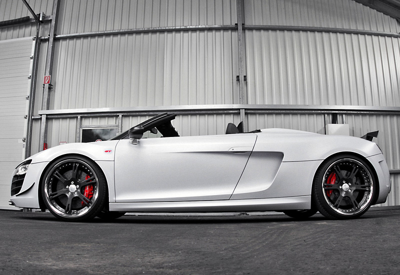 2012 Audi R8 Spyder GT Wheelsandmore Triad Bianco