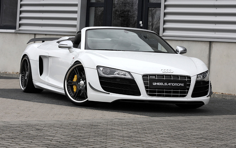 2012 audi r8 spyder gt wheelsandmore triad bianco. Black Bedroom Furniture Sets. Home Design Ideas