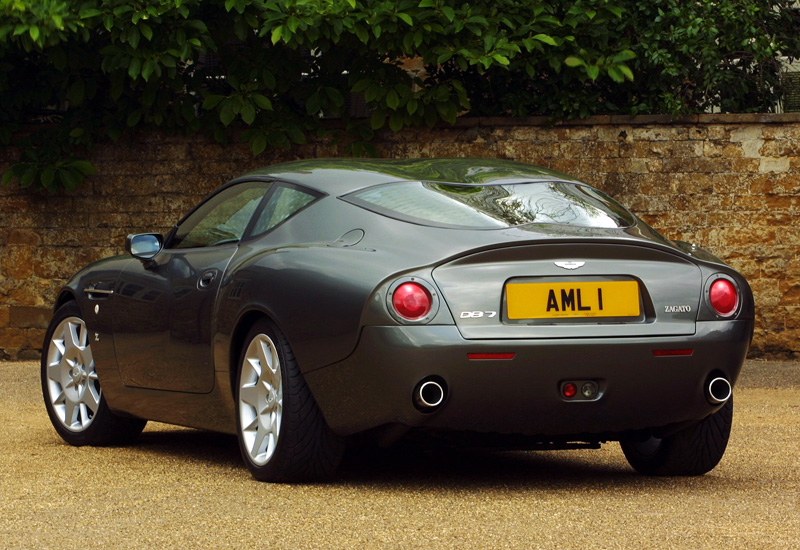 2003 aston martin db7 zagato specifications photo