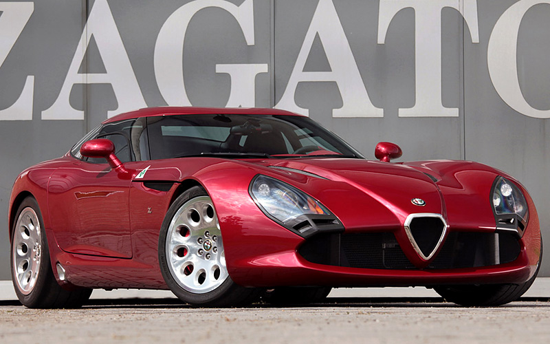 Alfa romeo tz3 stradale zagato top speed 8