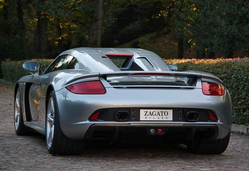 2012 Porsche Carrera Gt Zagato Specifications Photo