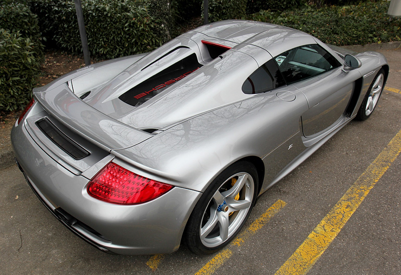 Porsche 918 Spyder >> 2012 Porsche Carrera GT Zagato - specifications, photo ...
