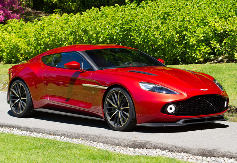 2016 Aston Martin Vanquish Zagato - specifications, photo ...