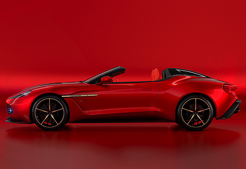 2018 Aston Martin Vanquish Zagato Speedster ...