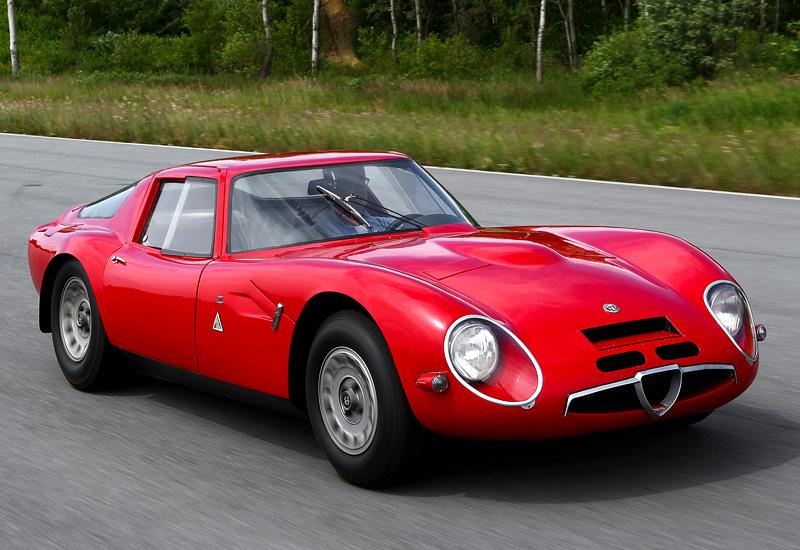 1965 Alfa Romeo Giulia TZ2 - specifications, photo, price ...