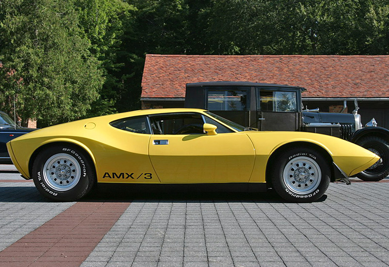 All Types Of Cars >> 1970 AMC AMX/3 Concept - specs, photo, price, rating
