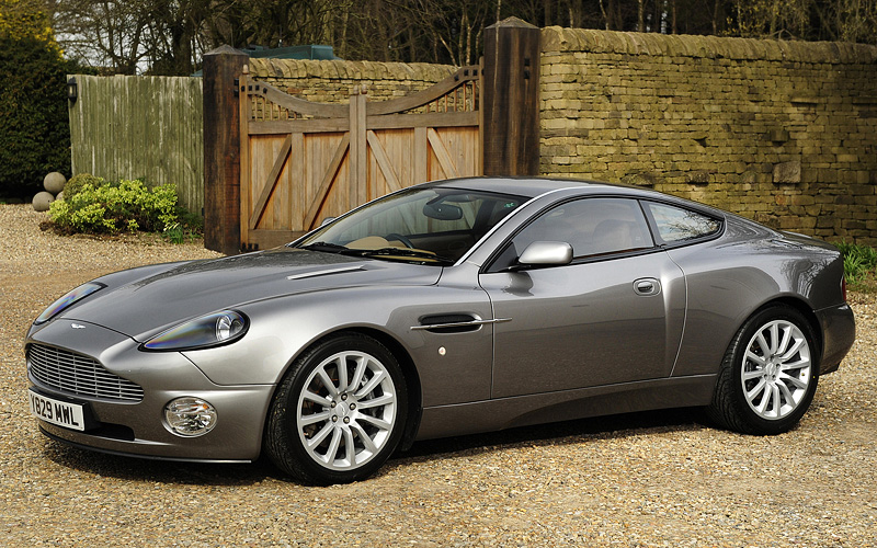 2001 Aston Martin V12 Vanquish Price And Specifications