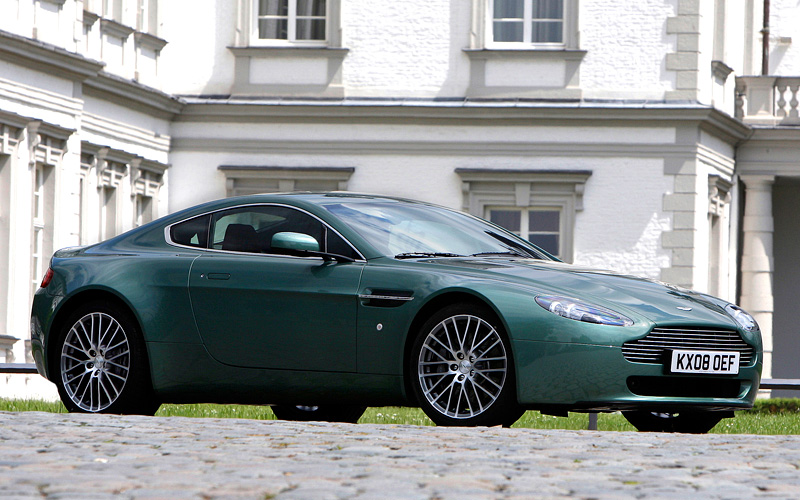2008 Aston Martin V8 Vantage Price And Specifications