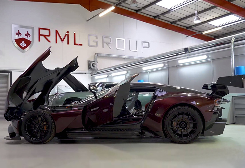 2017 Aston Martin Vulcan Street Legal By Rml Price And Specifications