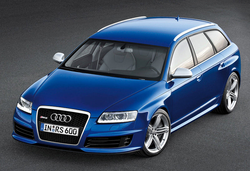 What Is A Sedan >> 2008 Audi RS6 Avant - specs, photo, price, rating