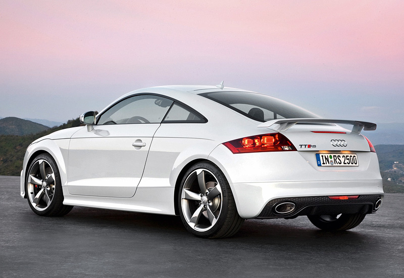 2009 Audi TT RS Coupe - price and specifications