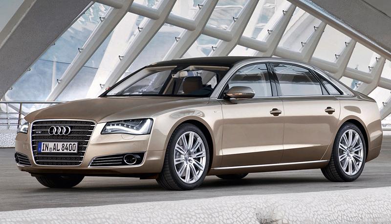 Top car ratings: 2010 Audi A8 L W12 quattro