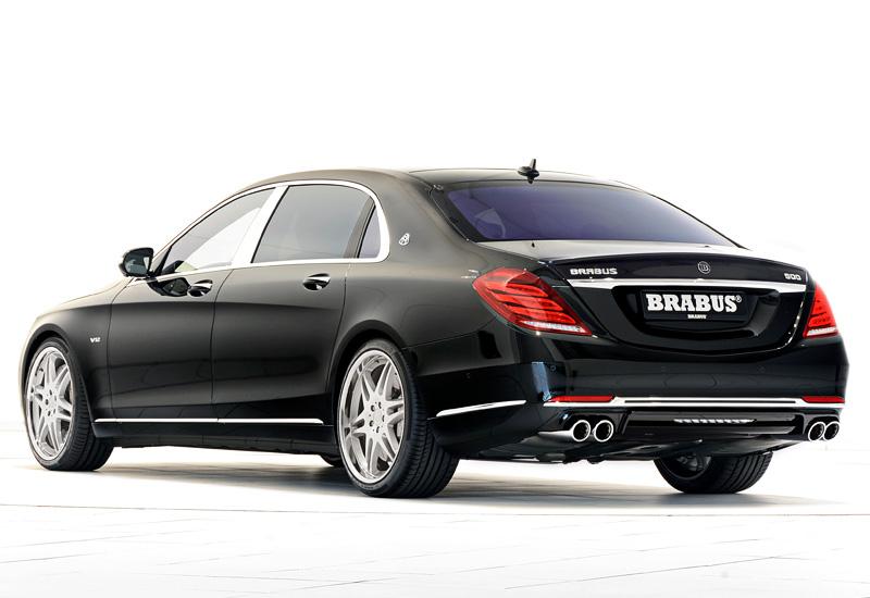 Mercedes V Class >> 2015 Brabus Mercedes-Maybach S600 Rocket 900 6.3 V12 - specs, photo, price, rating