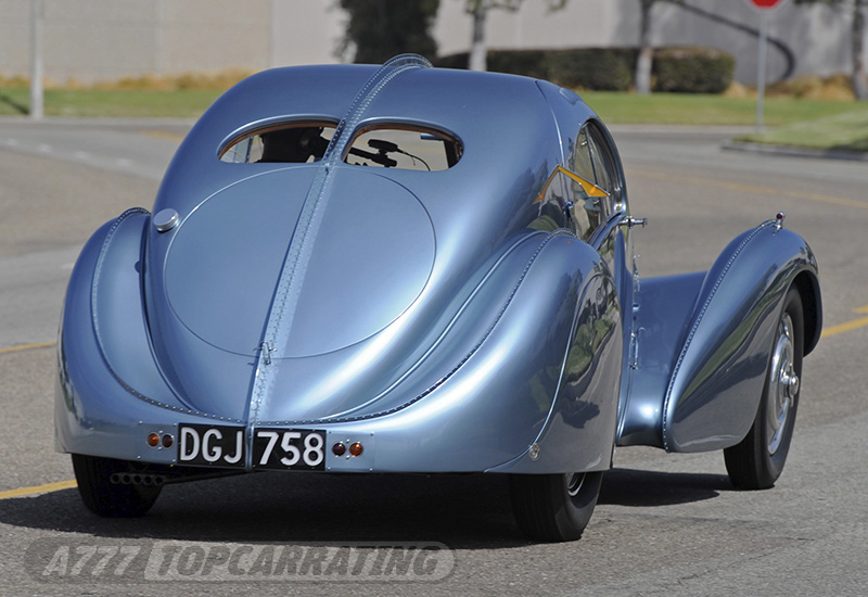 1937 Bugatti Type 57SC Atlantic - specs, photo, price, rating