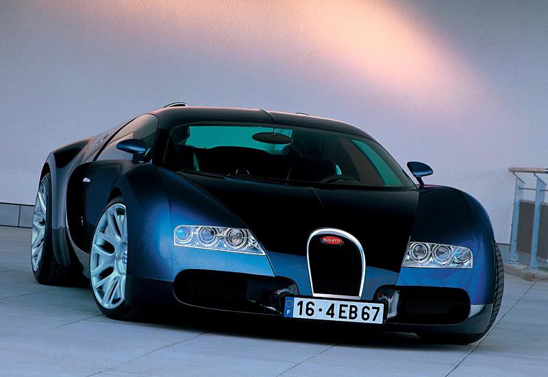 S 90 3 >> 1999 Bugatti EB 18/4 Veyron Concept - specs, photo, price ...