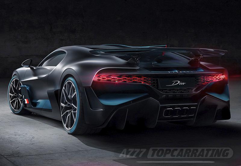 2020 Bugatti Divo - price and specifications