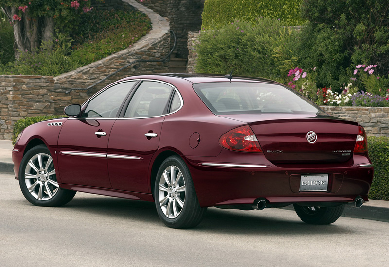 2008 Buick LaCrosse Super - specifications, photo, price ...