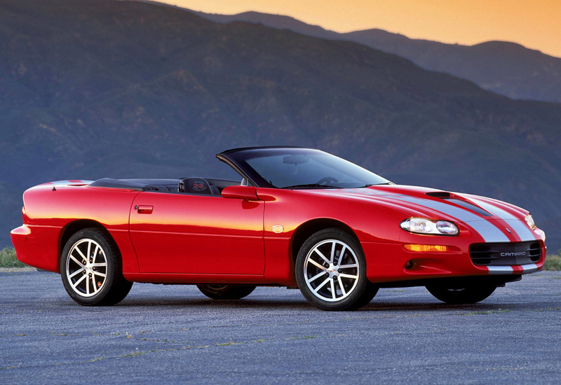 2002 Chevrolet Camaro Z28 SS Convertible 35th Anniversary