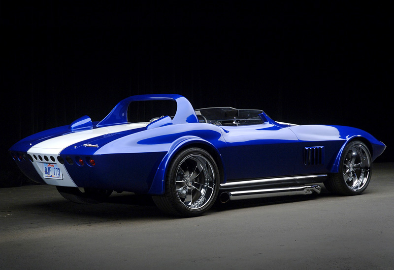 1963 Chevrolet Corvette Grand Sport Roadster - specs ...