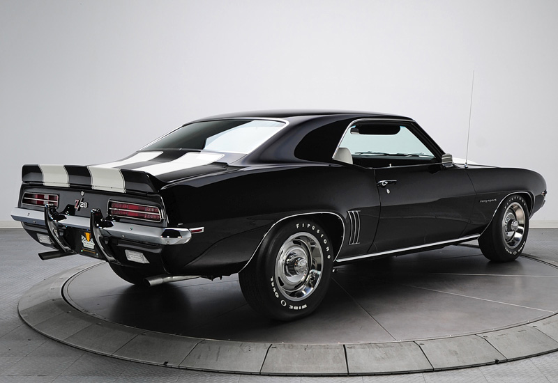 1969 Chevrolet Camaro Z/28 RS - specifications, photo, price, information, rating