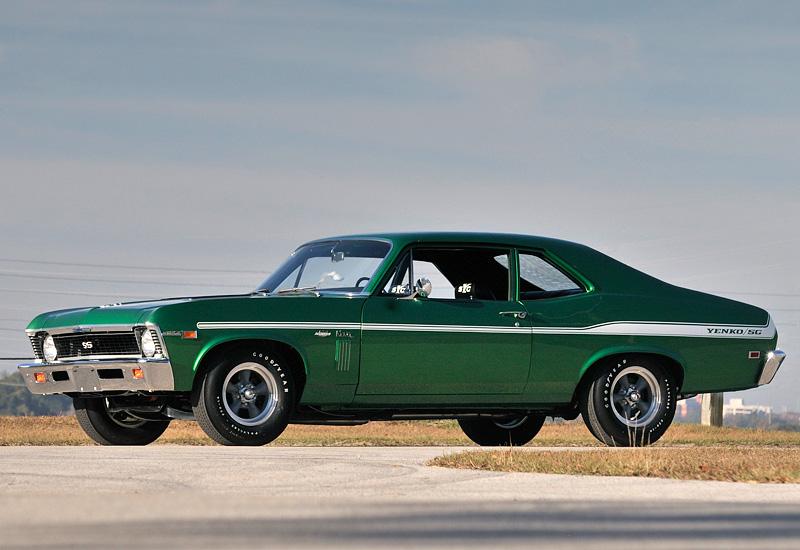1969 Chevrolet Yenko Nova 427 - specs, photo, price, rating