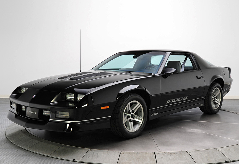 1986 Chevrolet Camaro Z28 IROC-Z - specifications, photo, price, information, rating