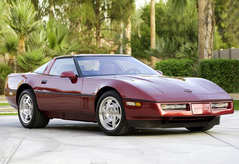 1990 Chevrolet Corvette ZR1 Coupe (C4) - specs, photo ...
