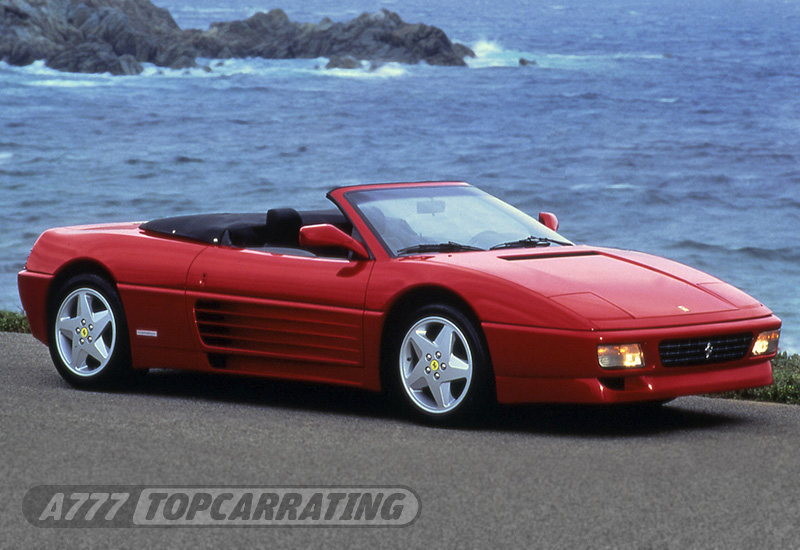 1993 Ferrari 348 Spider Price And Specifications