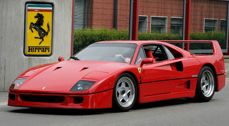 1987 Ferrari F40 Price And Specifications