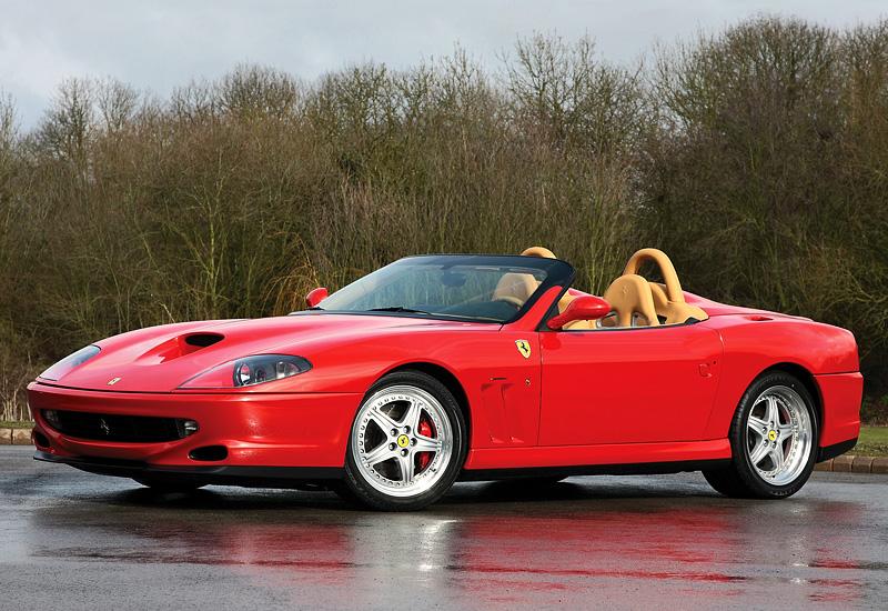 2000 Ferrari 550 Barchetta Pininfarina Price And Specifications