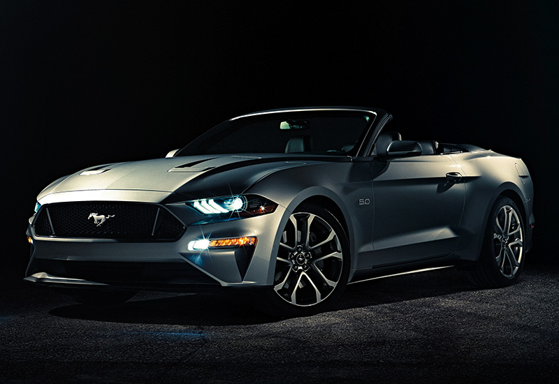 2018 Ford Mustang GT Convertible California