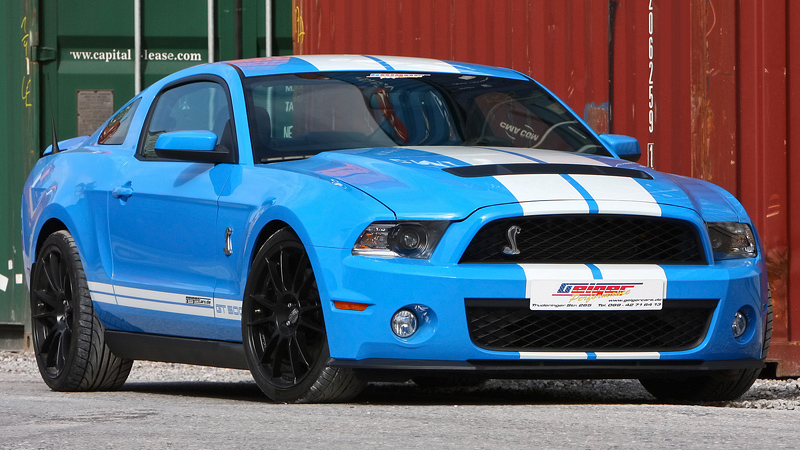 2010 Ford Mustang Shelby GT GeigerCars