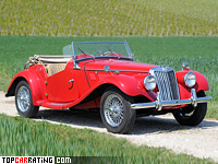 1954 MG TF 1500 = 137 kph, 63 bhp, 17.5 sec.